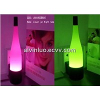 LED Light-Operated Liquor Jar Lamp