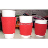 Neoprene cup holder cooler