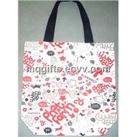 Promotional Cotton Shopping Duffel Bag