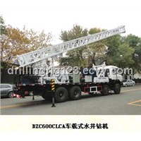 600meter truck mounted rotary table water well drilling rig