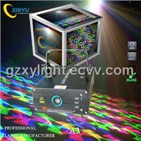 A3 Mini RGB full color flower laser effect light