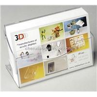 Acrylic Business Card Holder, Acrylic Name Card Case