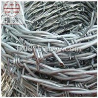 Barbed Wire Rope Galvanized or PVC Coated