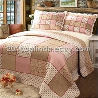 Bedding Set/Bedspread Quilted/Bed Cover/Quilt/Sheet--HY005