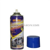 Car care product dashboard wax spray