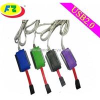Colorful Fashion USB to SATA/IDE Converter Cable