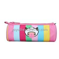 Colorful Pencil bag with happy sheep logo
