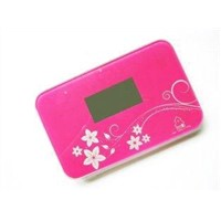 Colorful Printed Health Meter Digital Scale Body Travel Scale with Indicator Light
