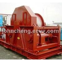 Combined windlass/mooring winch