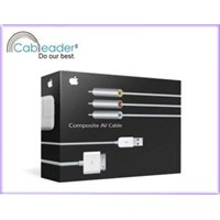 Component AV Cable for iPad 4.2 Version