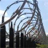 Concertina Barbed Wire Fence for Prisons and Detention Houses