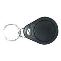 Custom Black Colored Plastic RFID Key Tag for IC Card