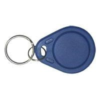 Dark Blue PVC Oval RFID ID Key Tag Printing