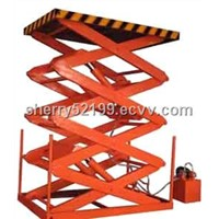 Fixed Sciissor Lift Table