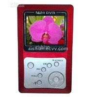 Free shipping MINI DVR-S008W 2CH SD card,2.5