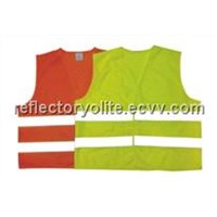 High visible reflective vest.