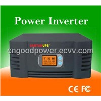 LCD 750w power inverter with charger