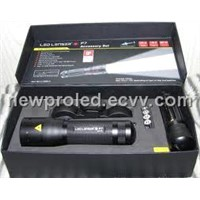 LED Lenser P7 8407 Flashlight with Luminous Flux of 200lm