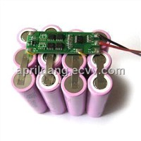 Li-ion Batteries with 11.1V Voltage and 10.4Ah Capacity for Portable Electric Devices