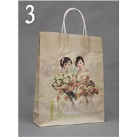 New Arrival Music Gift Bag With Beautiful China Art Design