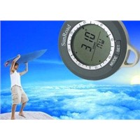 Outdoor hiking compass  with high accuracy sensor and Swiss dies SR104N