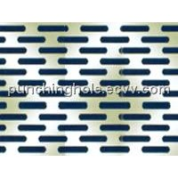 Perforated Slotted Hole Pattern