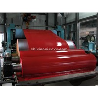 Red pvc film lamination steel plate for home appliance