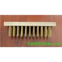 Sell wire brush, weed brush, steel wire brush, brass wire brush, wooden handle wire brush