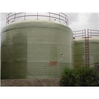 Site Twining Vertical Glass Fiber Reinforce Storage Tank