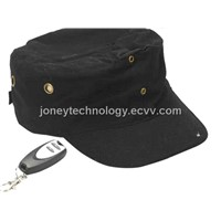 Spy/Hidden Hat camera built in 2GB/4GB Flash memory inside