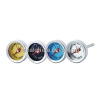 Stainless steel mini bbq thermometer