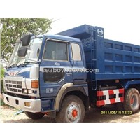 Used Hino Dump Truck EF750