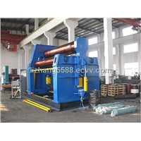 W12 plate rolling machine for four roller