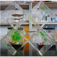 Water Clear Acrylic CD Display Stand CD Rack CD Holder