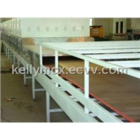 corrugated cardboard microwave drying equipment