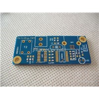 double-sided printed circuit board   blue Solder Mask
