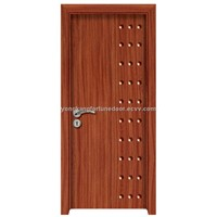 flush wooden interior door