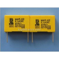 interference suppression mkp x2 capacitor