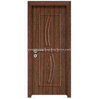 natural wooden interior door
