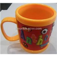 soft pvc tea cup