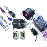 two way  LCD auto alarm system, CF2021, with engine start