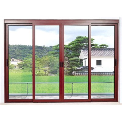 Multi Track Sliding Door Window China Aluminum Doors