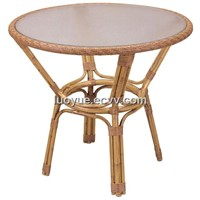 Bamboo-Finished Rattan Dining Table LD3119