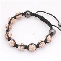 10mm Shamballa Bracelet 2008002