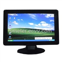 "12"" wide screen monitor with VGA DVD and touchscreen for PC"