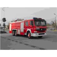 276HP  HOWO water mist fire engines
