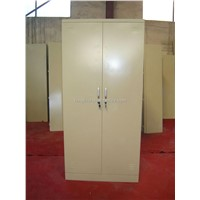 2 sliding door cabinet, metal