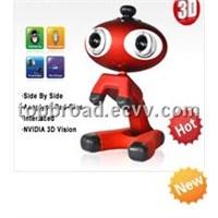 3D WEBCAM, pc camera, usb pc camera factory Supply (TB-3DCAM01)