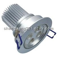 "3"" LED Down lamp 3*3W/4*3W Triac dimmable"