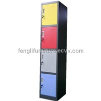 4 tier locker